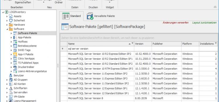 Wie kann ich SQL Server Versionen und Editionen zuverlässig ermitteln?