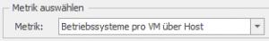 """Auswahl der Metrik """"Betriebssysteme pro VM über Host"""""""