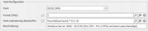 Host Konfiguration für Windows Server 2008- 2012