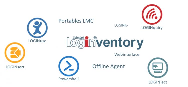 LOGINventory Funktionen auf einen Blick