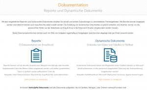 Überblick Dokumentations-Möglichkeiten
