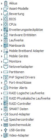 Hardware Inventarisierung