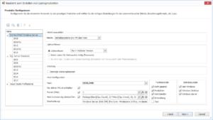 Automatisches Erkennen von Produkten und Festlegen der richtigen Konfiguration
