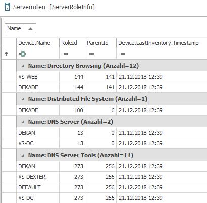 Server-Rollen