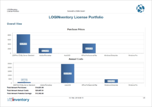 Overview of the Licenses Expenses